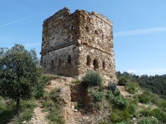 Ruta ST01 Torre del Telègraf abans restauració (Montornès V.)