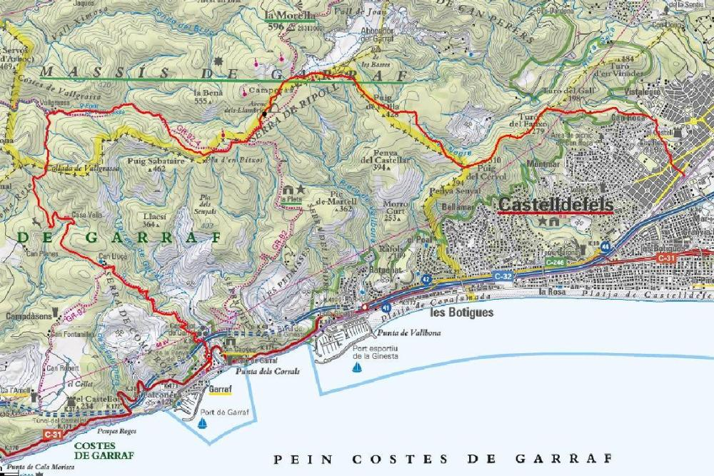 18. Castelldefels - Garraf 20 km (1/6)