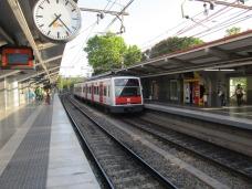 Sant Cugat tren