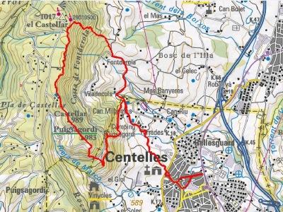 Mapa VF Centelles
