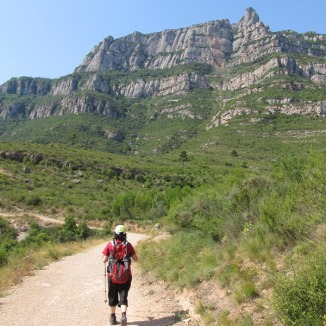 Pista a Montserrat