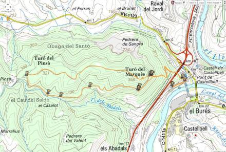 Mapa ruta 37