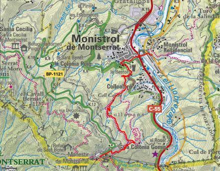 Mapa ruta 39
