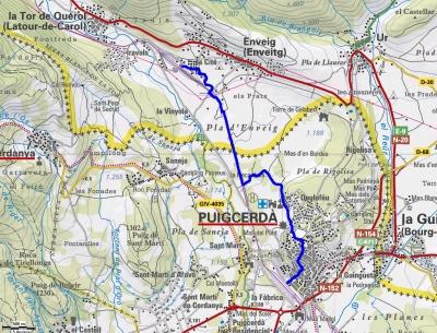 Mapa ruta 43