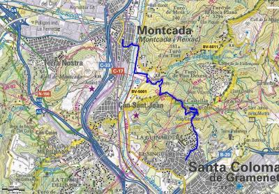 Mapa ruta 44