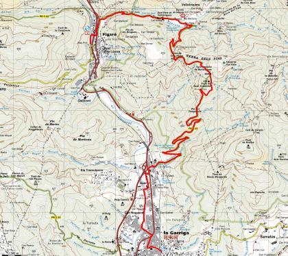 Mapa ruta 46