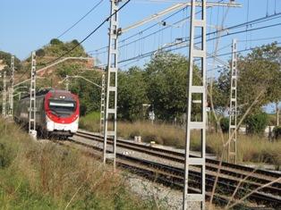 Tren i Turó de Montgat