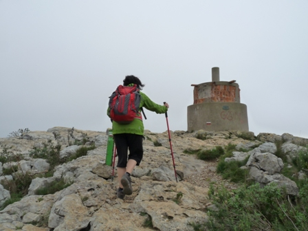 Arribant a La Morella