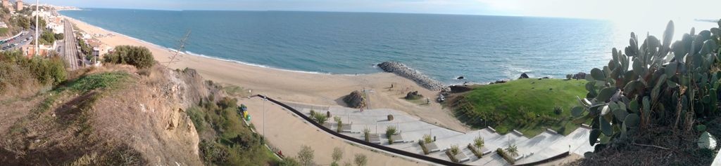 Panorama des del Turó de Montgat