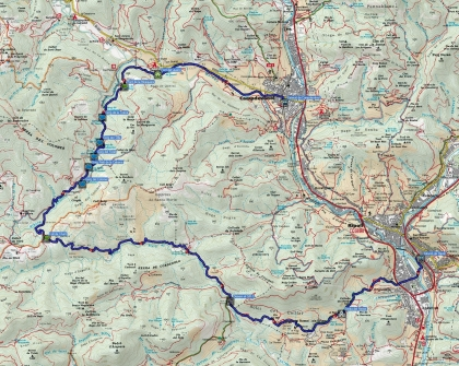 Mapa ruta Gorgs