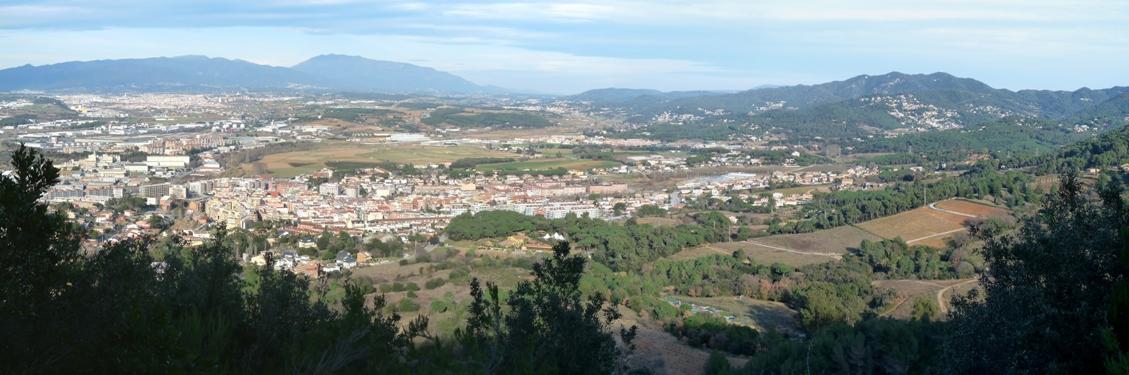 El Vallès des de Montornès