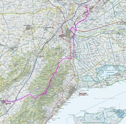 Mapa ruta ICC Amposta-Ulldecona_petit