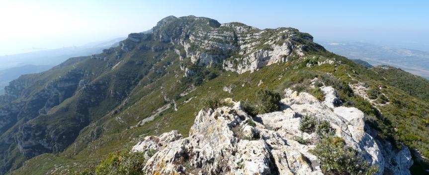 Serra de Montsià des de La Foradada