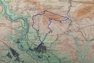 Mapa de la ruta PR C-166 Puigventós_PETITA