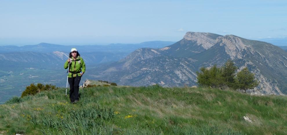Després de la Portella Blanca, de camí al Tossal de la Torreta