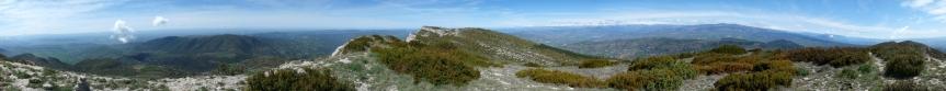 Panoràmica 360º des del Tossal de Mirapallars