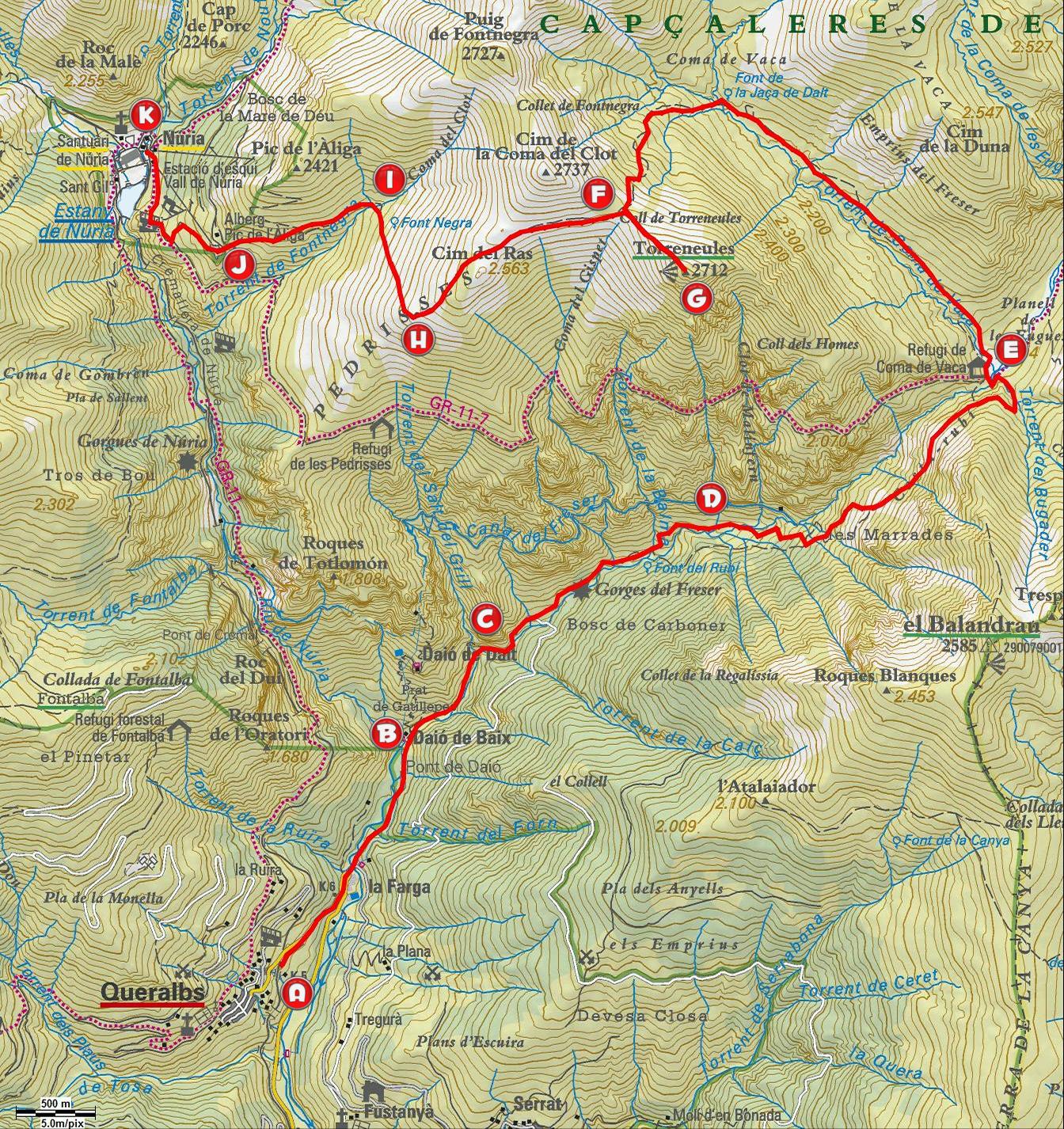 Vall de nuria photos, photos of vall de nuria, queralbs, attraction pictures, vall de nuria photo, photographs, fotos