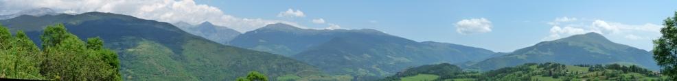 Panoràmica del Taga al Puigmal