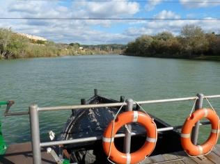 Ruta ST99 Flix (pas de barca)