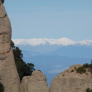 Ruta ST103 Prop el Montgrós. Montserrat