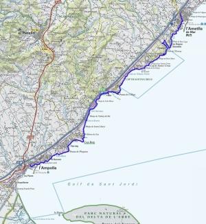 Mapa 107 L'Ametlla