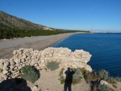 Castell del Torn i cap a la platja