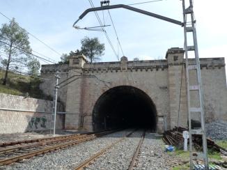 Fals túnel. Estació
