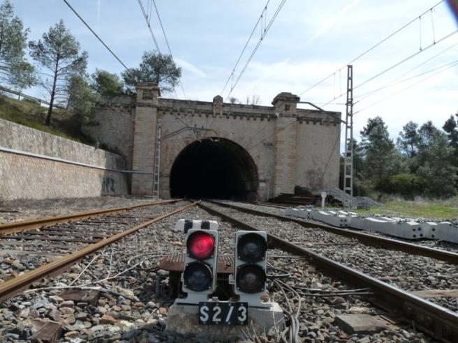 Estació del Pradell, túnel 72