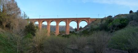 Pont Petit, viaducte del tren a l'Argentera