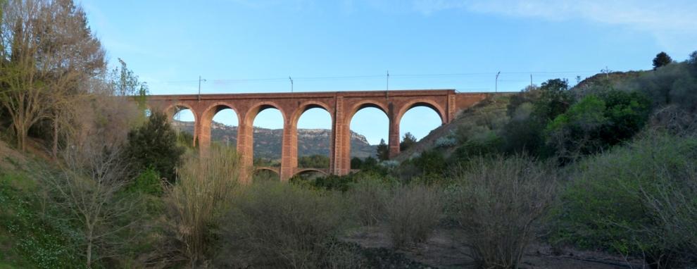 Viaducte del tren a l'Argentera