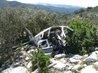 Ruta ST114 : Serra de Llaberia. L'Avioneta