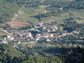 Torre de Fontaubella des de la Canal del Mig