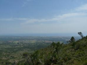 Vista cap al camp de Tarragona