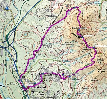 Mapa ruta 120