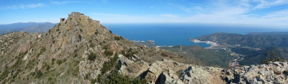 Badia del Port de la Selva i Castell de Sant Salvador Saverdera