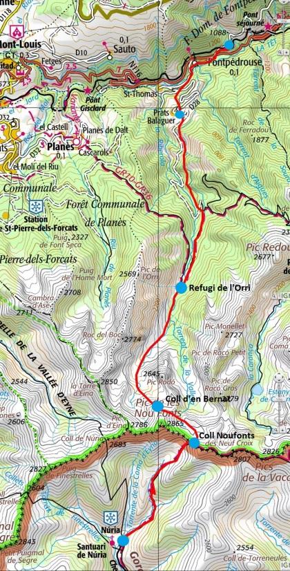 Mapa ruta_127_punts