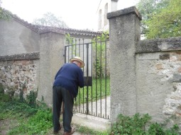 Entrada a l'ermita