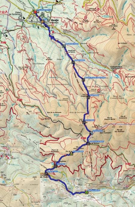 Mapa ruta 129