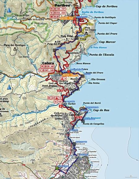 Mapa_Llançà_Portbou