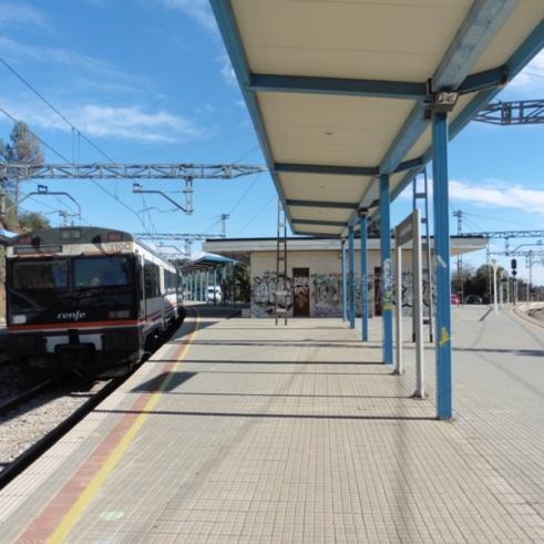 Estació de La Plana-Picamoixons