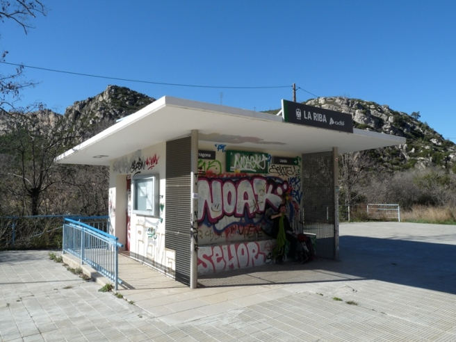 Estació de La Riba