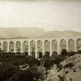 Pont dels Masos acabat d'inaugurar Font: Museu del Ferrocarril