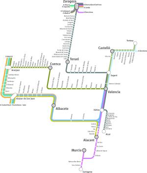Mapa MD Llevant