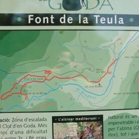 Plafó ruta Clot d'en Goda