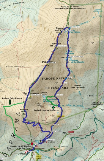 Mapa 121_Peñalara_variants