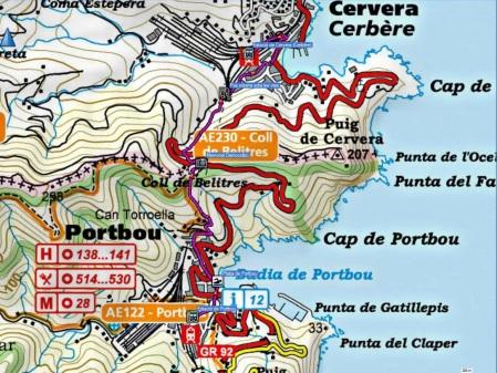 Mapa ruta 149