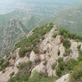 Roca del Duc (Roques de l'Afrau) cap a St. Salvador