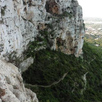 Vistes des de la Cova de l'Aigua