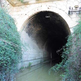 Entrada túnel Tapioles (boca est)