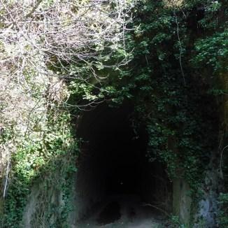 Entrada túnel Tapioles (boca oest)